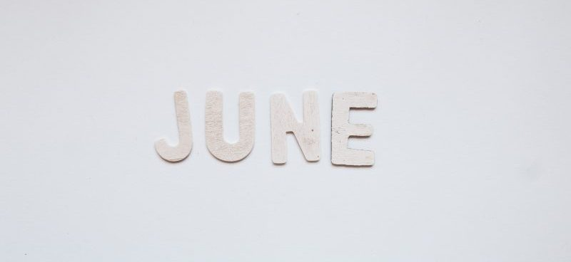 Image of the month June in lettering - Employment Law Newsletter Aaron and Partners