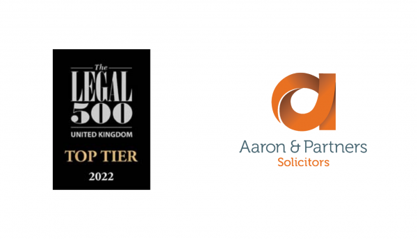 Aaron and Partners Legal 500 Ranking 2022
