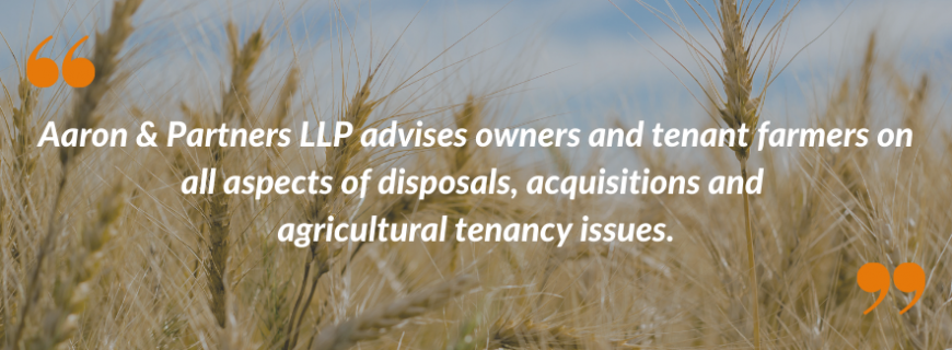 Agricultural Lawyers Aaron and Partners