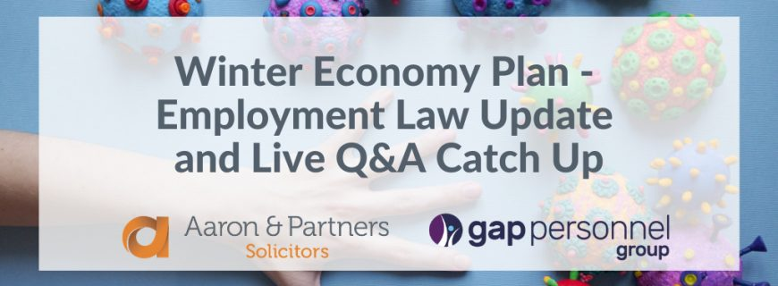 promoting our catch up employment law update seminar with gap personnel group