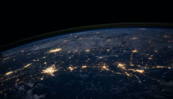 photo of world in space to launch our international website