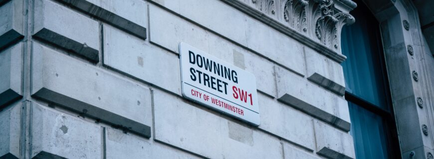 picture of downing street, london